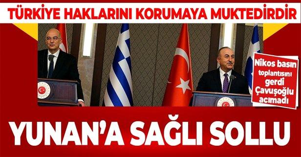 Yunanistan Dışişleri Bakanı Ankara'da