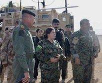 Skandal! ABD'li, İngiliz ve Fransız askerler, YPG'lilerle toplandı