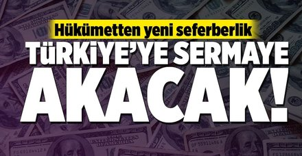 Sermaye Türkiye'ye akacak