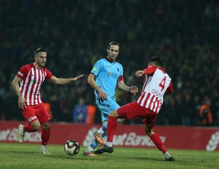 Trabzonspor çeyrek finalde! (MS: Balıkesirsor 1-3 Trabzonspor)