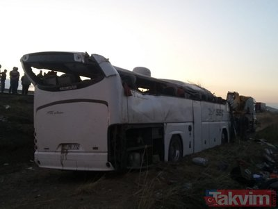 Aksaray'da katliam gibi kaza! Çok sayıda ölü ve yaralı var