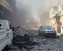 Afrin'de patlama! 13 kişi yaralandı