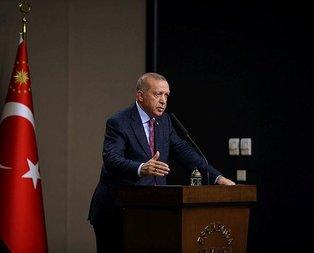 Başkan Recep Tayyip Erdoğan G-20 zirvesi için Osaka'da