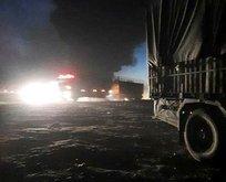 Suriye'de balistik füzeli saldırı!