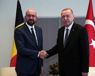 Başkan Erdoğan, Belçika Başbakanı Michel'i kabul etti