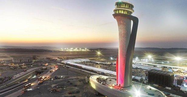 İstanbul Havalimanı'na ABD'den tam not