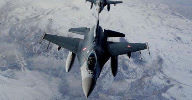 PKK'ya bomba yağdı! Hepsi yerle bir edildi...