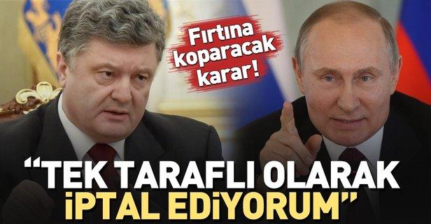 Ukraynadan fırtına kopartacak Rusya kararı!
