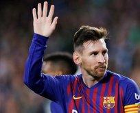 Messi'den geri adım