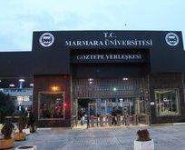 Marmara Üniversitesi'nde Başkan Erdoğan'a hakaret!