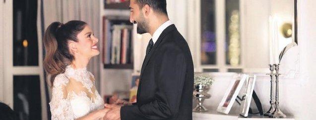 Hilal Özdemir'in renkli kına gecesi