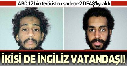 Son dakika: ABD, İngiliz vatandaşı 2 DEAŞ üyesini gözetimine aldı