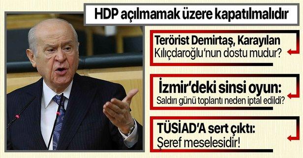 HDP açılmamak üzere kapatılmalıdır