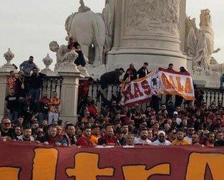 Galatasaray maçı öncesi silah sesleri...