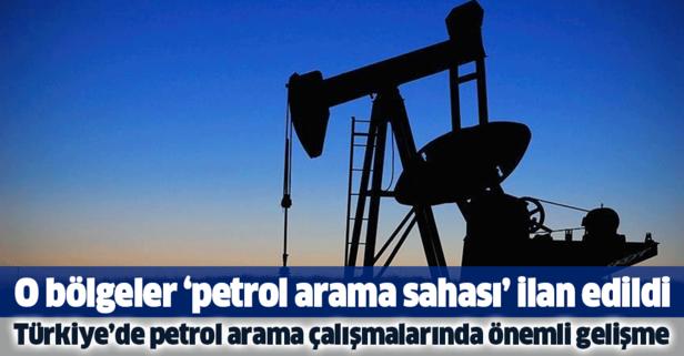 Türkiye'de petrol arama çalışmalarında önemli gelişme