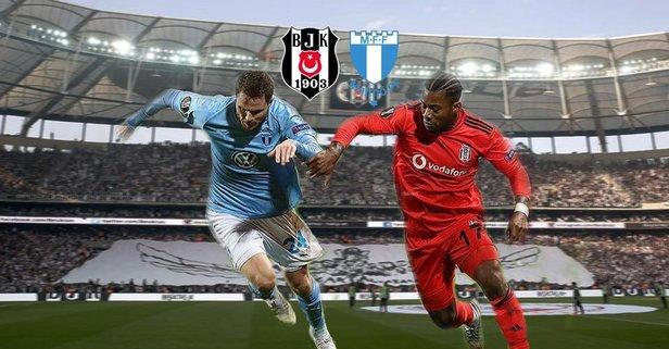 Beşiktaş - Malmö maçı hangi kanalda?