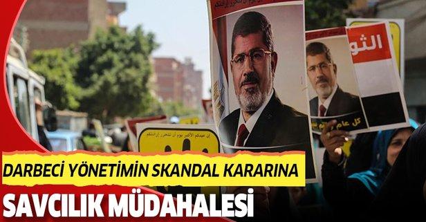 Darbeci Mısır yönetiminin skandal kararına savcılık müdahalesi