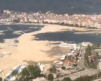 Deniz salyası Marmara'yı işte böyle sarıyor!