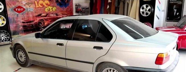BMW marka arabasının son halini görünce hüngür hüngür ağladı! Gözünden sakınıyordu...