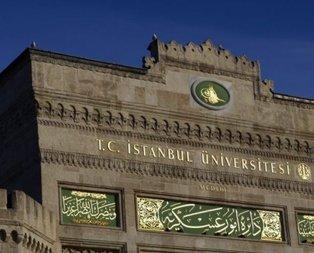 İstanbul Üniversitesi uzaktan eğitim alanları açıkladı