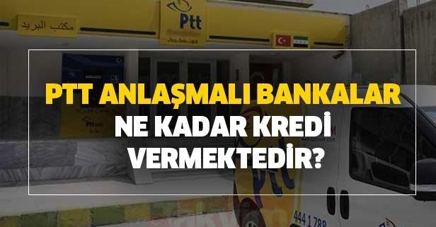 2020 PTT kredisi veren bankalar: PTT kredisi başvurusu, şartları, güncel faiz oranları nedir?