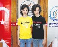 İkizlerin LGS başarısı