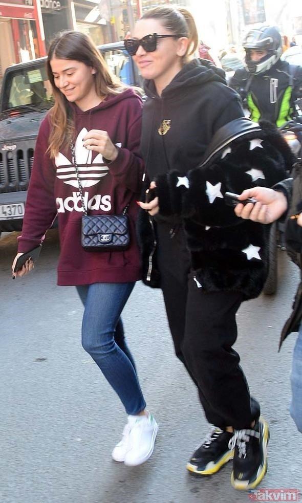Hadise ve kardeşi Derya Açıkgöz Nişantaşı'nda polislik oldu!