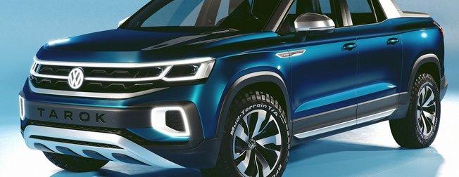 Volkswagen yeni pick-up'ı Tarok'u tanıttı! 2019 Volkswagen Tarok özellikleri
