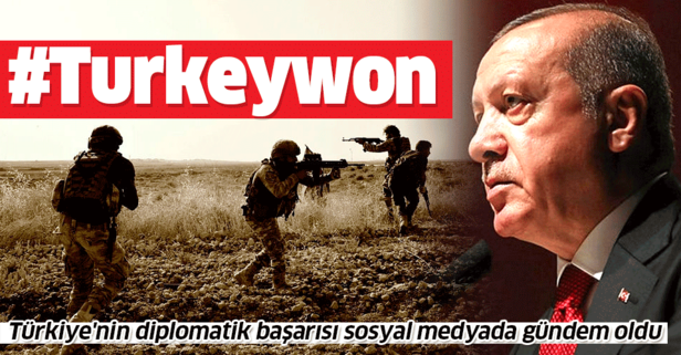 Sosyal medyada gündem oldu: TurkeyWon