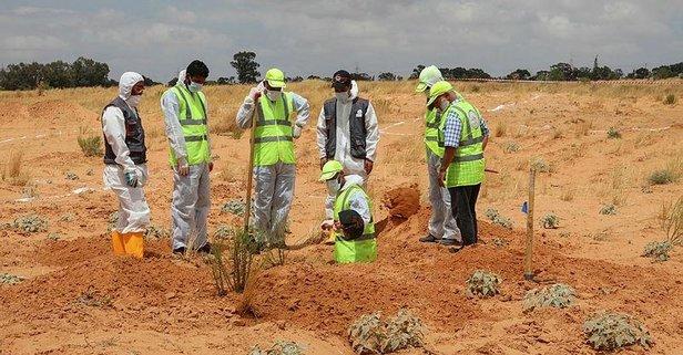 Libya'da Hafter vahşeti: 5 ceset daha çıkarıldı