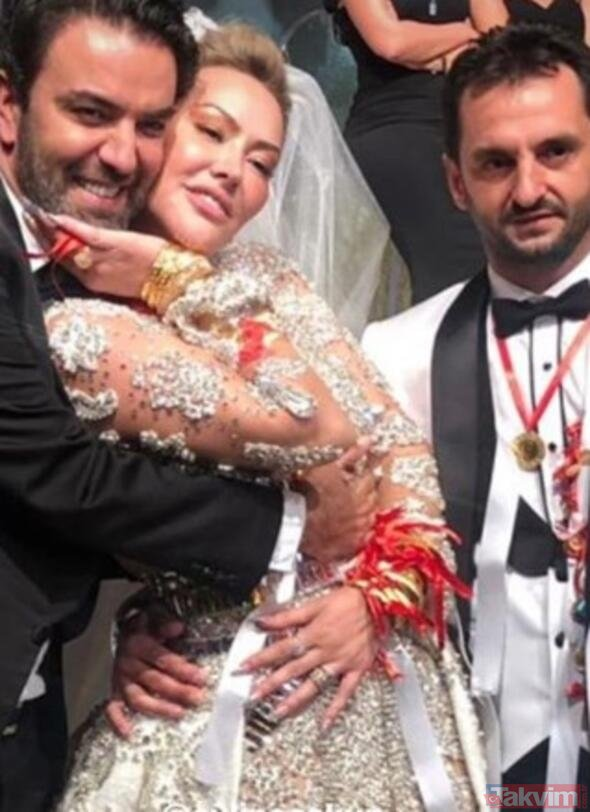 Aylin Coşkun'dan düğünü hakkında şok sözler! Ne kadar altın takıldığını açıkladı!