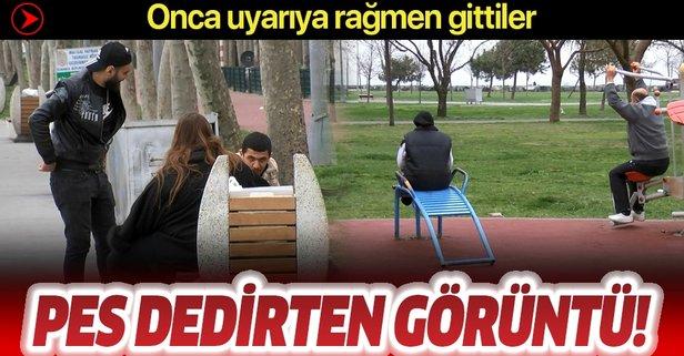 İstanbul'da pes dedirten görüntü
