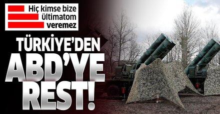 Son dakika haberi: Bakan Çavuşoğlu'ndan ABD'ye S-400 resti: Hiç kimse bize ültimatom veremez