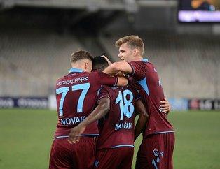 Trabzonspor'un Yeni Malatyaspor 11'i belli oldu