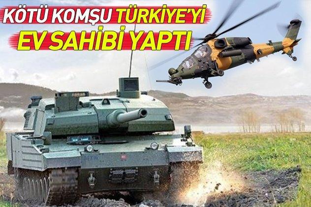 Kötü komşu Türkiye'yi ev sahibi yaptı! İşte Türkiye'nin yerli ve milli silahları
