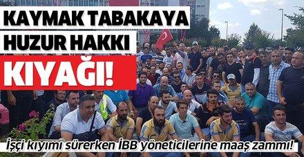 İmamoğlu kaymak tabakanın peşinde! İBB yöneticilerine 'Huzur hakkı' adı altında maaş zammı!