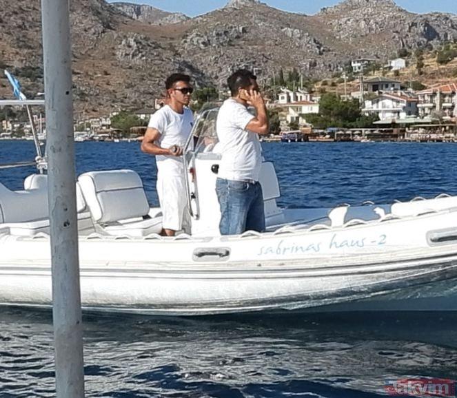 Bensu Soral ile Hakan Baş çifti Marmaris'te görüntülendi! Plajda yaşanan gergin anlar kameralara böyle yansıdı