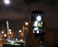 Haliç'te bu manzarayı görenler telefonlarına sarıldı