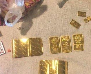 FETÖcü kaçak altınlarla yakalandı
