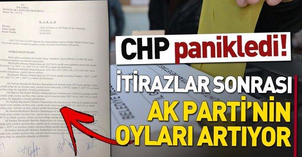 Bağcılar'da 1304 oy AK Parti'ye yazıldı
