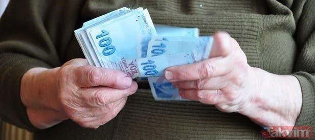 Emeklinin zamlı maaşı hesapta   Kim ne zaman alıyor?