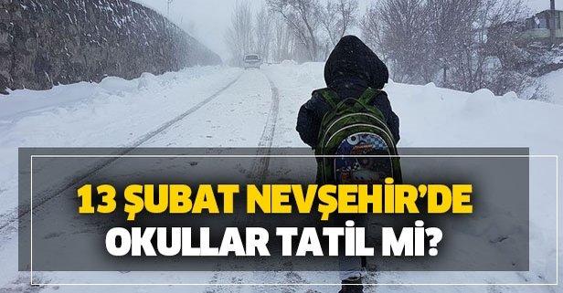 Nevşehir'de bugün okullar tatil mi?