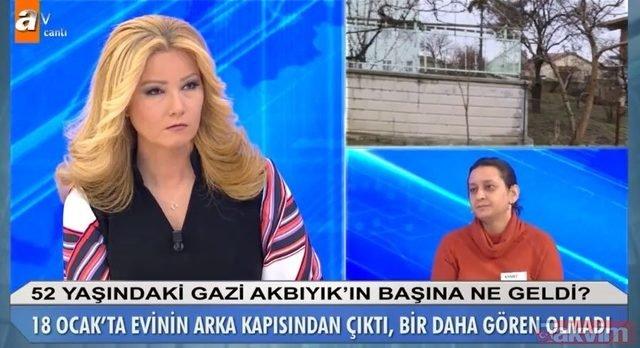 Müge Anlı son bölümde Abdullah Gazi Akbıyık hakkında korkunç iddia: Boğazına ip bağlayıp çırılçıplak... 14 Şubat