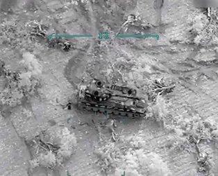 MSB görüntüleri paylaştı! Esad rejimi hedefleri böyle vuruldu