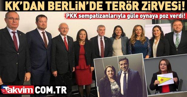 Kılıçdaroğlu'ndan Berlin'de terör zirvesi!