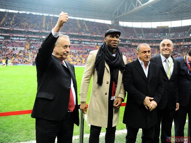 Türk Telekom Stadı'nda Didier Drogba coşkusu