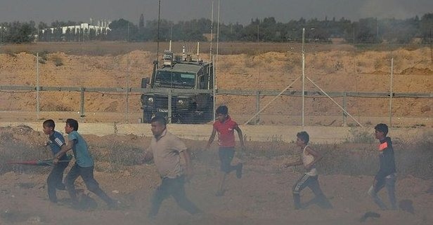 İsrail askerleri Filistinlilere saldırdı! 30 yaralı - Takvim
