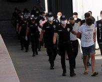 Hava destekli şafak operasyonunda 9 tutuklama!
