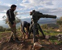 ABDnin YPGye verdiği ağır silahlara karşı Racoya anti tank füzeleri yerleştirildi