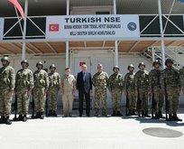 Başkan'dan Bosna'da Türk askerlerine ziyaret